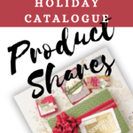 Title page for the Holiday Catalogue product share featuring an image of the 2018 Stampin' Up! Holiday Catalogue cover page