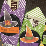 Toil & Trouble candy bar holders for Halloween