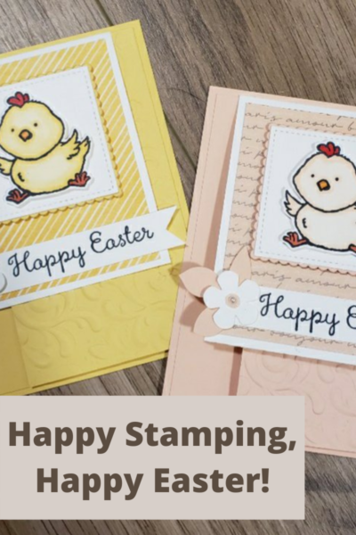 Welcome Easter Stampin' Up! cards