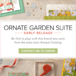 Ornate Garden product suite by Stampin' Up!