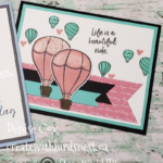 Stampin' Up! Above the Clouds cards