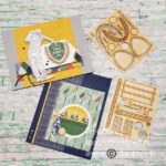 Display fof two masculine greeting cards using the golfing images included in the Country Club product suite by Stampin' Up!