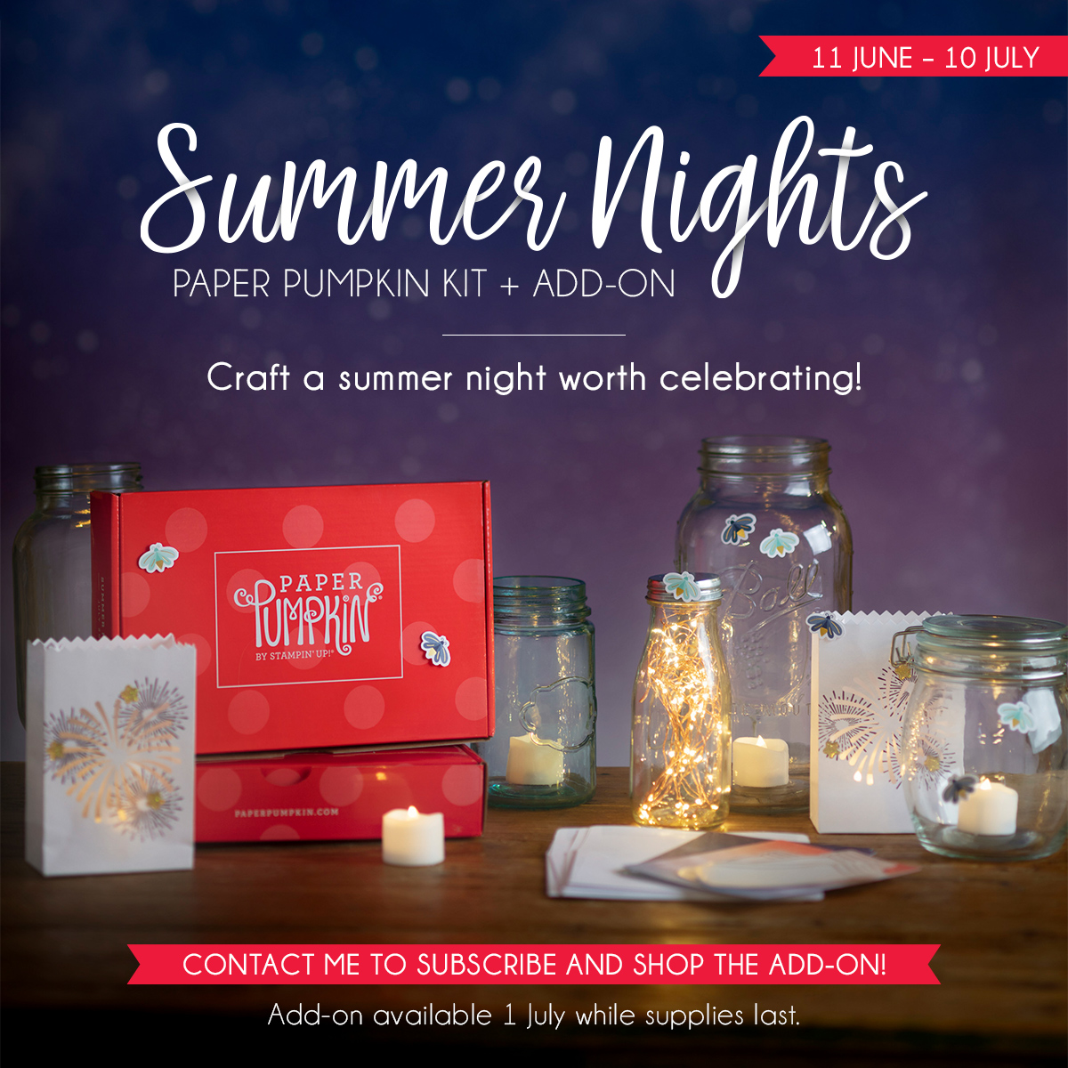 July 2020 Paper Pumpkin Summer Nights Kit