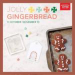 Gingerbread Men on cookie sheet to promote Stampin' Up!'s November Paper Pumpkin kit