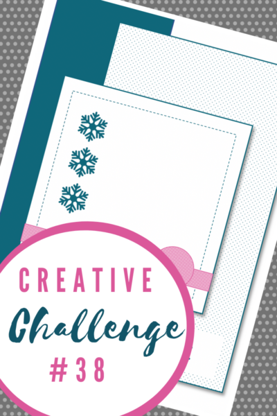 Creative Challenge #38 Card Sketch
