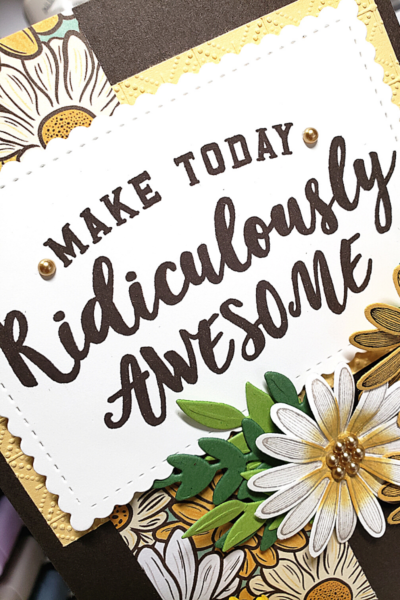 Let's Make Today Ridiculously Awesome card
