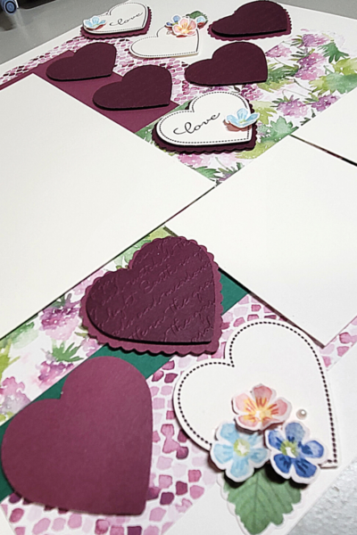Berry Delightful Scrapbook Layout - Stampin' Up!