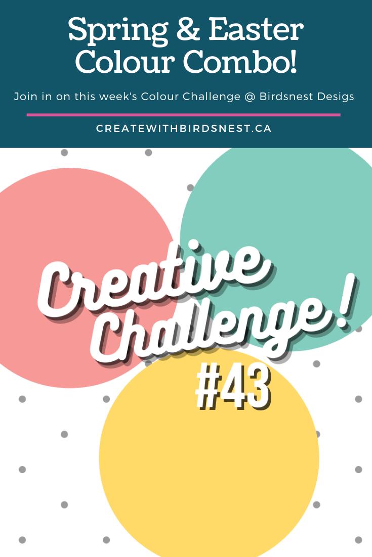 Creative Challenge #43: Colour Combination via @denise34
