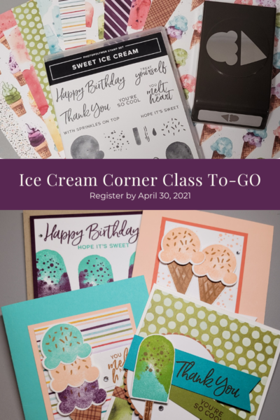 Ice Cream Corner Class-To-Go