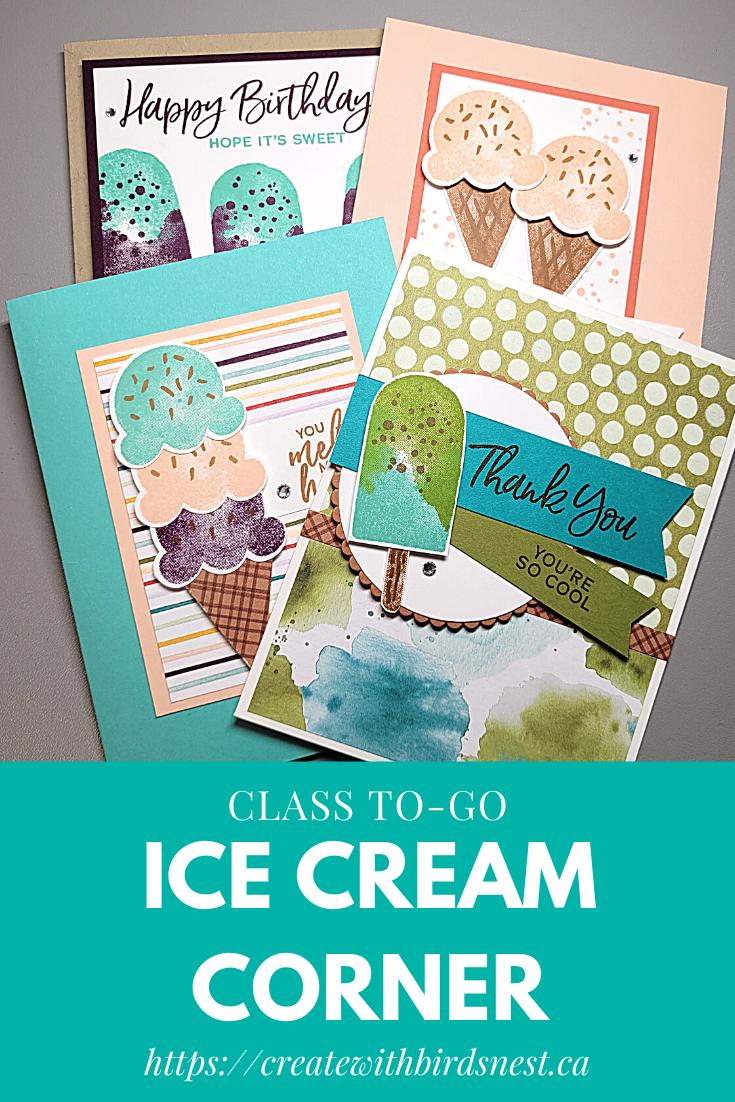 Ice Cream Corner Class-To-Go via @denise34